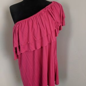4-Way Convertible Ruffle Top